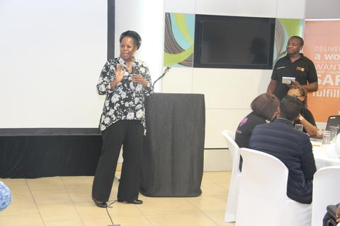 Alma Scott, Head for Africa Operations and Partnerships at Johnson & Johnson