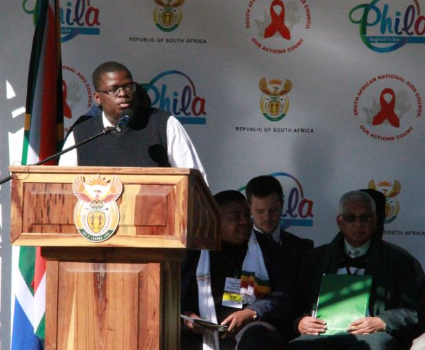 Tshepo Ngoato, UNFPA Youth Advisory Panel member